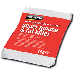 Pest-Stop Mouse & Rat Killer Sachets