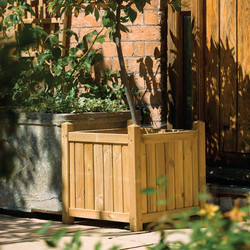 Rowlinson Rowlinson Square Planter 50cm (h) x 50cm (w) x 50cm (d) - 85567 - from Toolstation