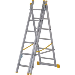 Youngman Youngman Combination Ladder 4 Way 2m - 85572 - from Toolstation