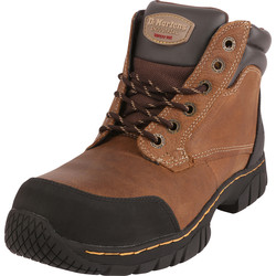 Dr Martens Dr Martens Riverton Safety Boots Brown Size 8 - 85581 - from Toolstation