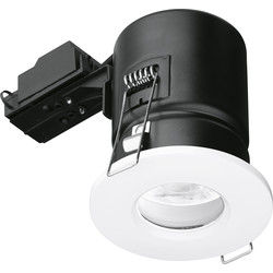 Enlite Enlite IP65 Fire Rated GU10 Downlight EN-FD103W White - 85582 - from Toolstation