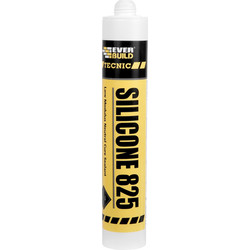 Everbuild Silicone 825 - 380ml White