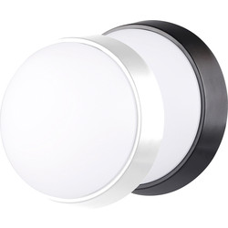 Luceco LUCECO ECO LED Round Bulkhead IP54 10W 700lm - 85627 - from Toolstation