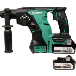 Hikoki Hikoki DH18DBL 18V Li-Ion Cordless Brushless SDS Plus Hammer Drill 2 x 5.0Ah - 85667 - from Toolstation
