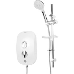 AKW iSure AKW iTherm Thermostatic Electric Shower 9.5kW - 85668 - from Toolstation