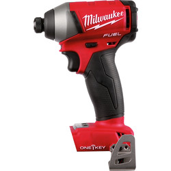 Milwaukee Milwaukee M18ONEID-502X 18V Li-Ion One-Key Cordless Brushless Impact Driver Body Only - 85728 - from Toolstation