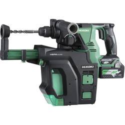 Hikoki Hikoki DH36DPB 36V MultiVolt Brushless Rotary SDS Plus 28mm Hammer Drill 3 x 2.5Ah Multivolt - 85823 - from Toolstation