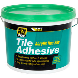 Everbuild Everbuild 701 Non Slip Wall Tile Adhesive 3.75kg - 85919 - from Toolstation