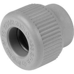 Unbranded Stop End 15mm - 85943 - from Toolstation