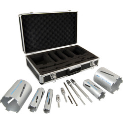 Mexco Premium Dry Diamond Core Drill Set 5 Core - 85987 - from Toolstation