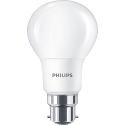 Philips Philips LED A Shape Lamp 5.5W BC (B22d) 470lm - 86127 - from Toolstation