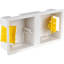 Appleby Appleby Dry Lining Boxes Dual 35mm - 86152 - from Toolstation