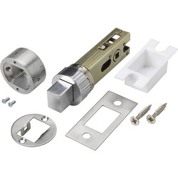 "Urfic Easy Deadbolt 3"" Satin - 86205 - from Toolstation"