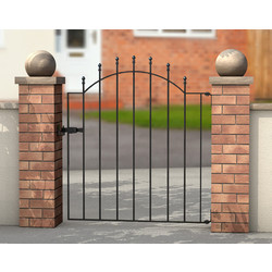 Powapost PowaPost Hamble Metal Gate 838 x 1030mm - 86272 - from Toolstation
