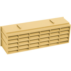 9 x 3 Air Brick Buff - 86289 - from Toolstation