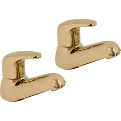 Methven Methven Adore Taps Bath Pillar Gold - 86316 - from Toolstation