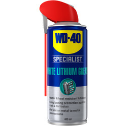 WD-40 WD-40 Specialist High Performance White Lithium Grease 400ml - 86344 - from Toolstation