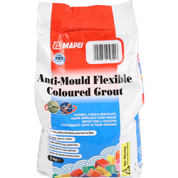 Mapei Mapei Anti Mould Tile Grout 5kg White - 86398 - from Toolstation