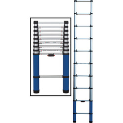 Werner Werner Telescopic Ladder 2.9m - 86574 - from Toolstation