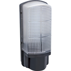 Meridian Lighting LED 9W Bulkhead Black 720lm - 86576 - from Toolstation