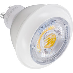 Integral LED Integral LED Classic Glow LED GU10 Dimmable Lamp 7.5W Cool White 470lm A - 86712 - from Toolstation
