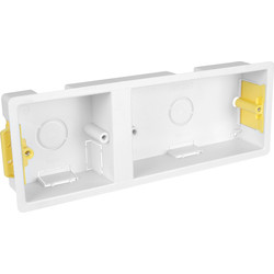 Appleby Appleby Dry Lining Boxes  2 Gang + 1 Gang  - 86800 - from Toolstation