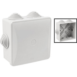 IMO Stag IMO Stag IP44 Enclosure 80 x 80 x 50mm - 86971 - from Toolstation