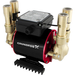 Grundfos Grundfos Amazon STP Brass Twin Shower Pump 1.5 bar - 86985 - from Toolstation