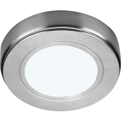 Sensio Sensio LED Low Voltage Round Under Cabinet Light 24V Cool White 85lm fitting only - 87097 - from Toolstation
