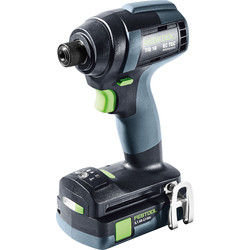 Festool Festool 18V Impact Drill Brushless TID18 3.1-Plus 2 x 3.1Ah - 87113 - from Toolstation