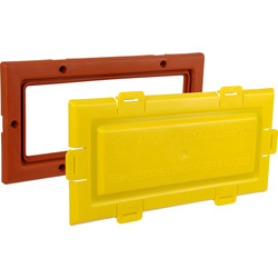 Flood Defence Air Brick  - 87124 - from Toolstation