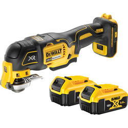 DeWalt DeWalt 18V XR Multi Tool (3 Speed) 2 x 5.0Ah - 87142 - from Toolstation