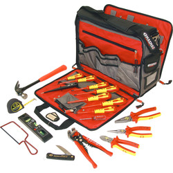 CK CK Electrician's Premium Tool Kit & Bag  - 87165 - from Toolstation