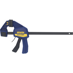 "Irwin Irwin Quick-Grip Medium-Duty Bar Clamp 300mm / 12"" - 87271 - from Toolstation"
