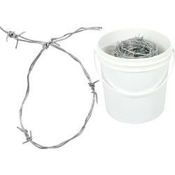 Galvanised Barbed Wire 25m - 87272 - from Toolstation