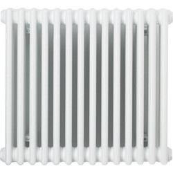 Arlberg Arlberg 3-Column Horizontal Radiator 500 x 670mm 2464Btu White - 87273 - from Toolstation