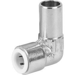 Drayton Drayton Push Fit Elbow 10mm Chrome Plated - 87279 - from Toolstation