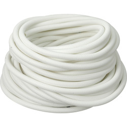 Profix Polypropylene Flexible Conduit 25mm x 50m Coil White - 87362 - from Toolstation