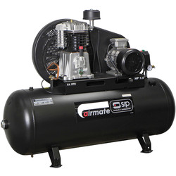 SIP SIP 06585 Oil Lubricated Belt Drive 270L 7.5HP 3 Phase Compressor 400V - 87399 - from Toolstation