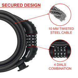 Master Lock High Security Cable Lock