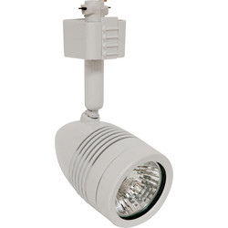 Robus Acorn 50W IP20 Track Spotlight White - 87436 - from Toolstation