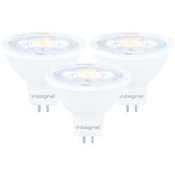 Integral LED Integral LED 12V MR16 GU5.3 Dimmable Lamp 8.3W Warm White 621lm A+ - 87529 - from Toolstation