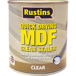 Rustins Rustins Quick Drying Clear MDF Primer Sealer 500ml - 87589 - from Toolstation