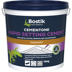Bostik Bostik Cementone Rapid Setting Cement 10kg - 87635 - from Toolstation