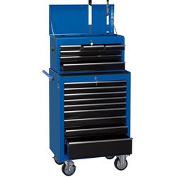"Draper Draper Combination Roller Cabinet and Tool Chest 26"" 15 drawer - 87676 - from Toolstation"