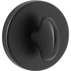 Urfic Bathroom Thumbturn Escutcheon Set Black