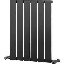 Ximax Ximax Oxford Single Designer Radiator 600 x 445mm 1058Btu Anthracite - 87744 - from Toolstation