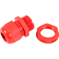 CED IP68 Gland / Locknut Kit Red - 87759 - from Toolstation