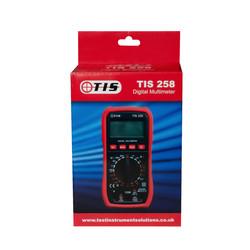TIS 258 Digital Multimeter With Temperature Probe