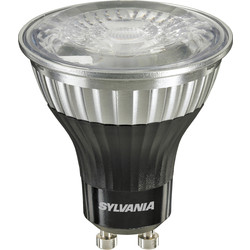 Sylvania Sylvania LED Pureform GU10 Lamp 5W Cool White 380lm A+ - 87944 - from Toolstation